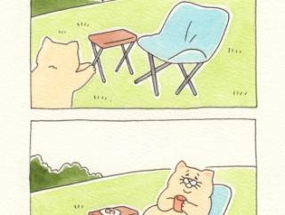 ネコノヒー「チェアリング」/chairing