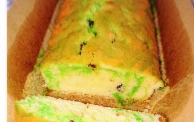 『簡単!マーブルパウンドケーキ』の画像