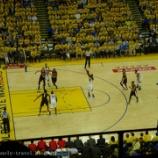 『サンフランシスコ旅行記6 NBA現地観戦2016!ブレイザーズVSウォーリアーズ プレイオフ セミファイナル ゲーム1(後編)』の画像