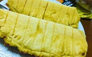 芯も食べられる台湾パイナップル