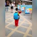 【動画】中国、小学校に遅刻した少年、正門前で国歌を耳にして直立不動のまま敬礼! [海外]