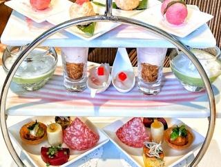 <おすすめ>美と健康を意識した春の前菜がハイティースタイルで登場!【イタリアンダイニング ジリオン】ホテル インターコンチネンタル 東京ベイ 実食 口コミ ブログ