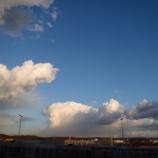『冬の 乱雲』の画像