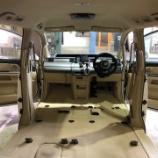 『ステップワゴン シート洗浄』の画像