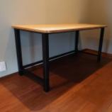 『テーブルの脚』の画像
