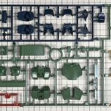 『ザクII改製作1・開封とランナー紹介』の画像