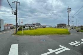 振り向けば田んぼ。星田駅北も稲穂が実っててこがね色が綺麗!