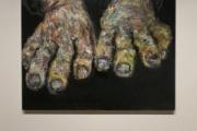 韓国的表現主義の巨匠、独立運動家や慰安婦の痛みを込めた作品を展示