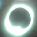 『皆既日食が硫黄島や太平洋上から中継されています』の画像