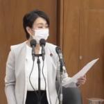 山尾志桜里議員「中国政府による香港版国家安全法に反対する共同声明に署名しました」