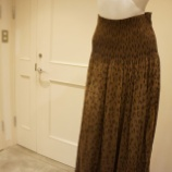 『irise(イリゼ)レオパード&チェックプリントリバーシブルスカート』の画像
