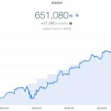 『【資産運用】2020年12月1週目!THEO+docomoの資産運用状況は651,080円でした。』の画像