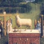 15世紀の子羊の絵画を復元したら「目が不気味になっちゃった…」戸惑いの声が上がる