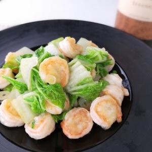 本格中華のお味♪海老と白菜の中華炒め