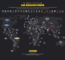 国別に「最も人気のある自動車メーカー」を世界地図にしてみた結果wwwwwwwwwwwww