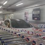 【画像】 大型マートでカート置き場に違法駐車 それに対する報復が凄いと話題に