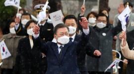 【韓国】文在寅「いつでも日本と向き合う準備ある」→翌日「意思疎通は日本の役目」と真逆の発言wwwww