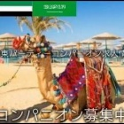 『中東パーティーコンパニオン求人情報』の画像