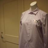『KEITA MARUYAMA(ケイタマルヤマ)ツバメ刺繍ギンガムチェックシャツ』の画像