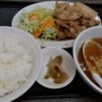 【画像】肉野菜炒め定食950円(税抜)
