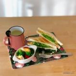 『Frying Tiger のスプーンホルダー付きマグカップ』の画像
