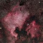『はくちょう座の北アメリカ星雲&ペリカン星雲コラボ』の画像