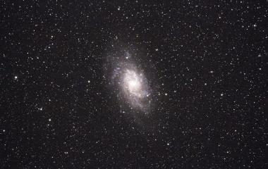 『さんかく座の渦巻き銀河(M33)』の画像