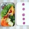 ◆ひき肉オムレツ弁当