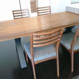 『高松市にイマダ・ダイニングテーブル・リスタとシギヤマ・チェアWALL LIFEを納品』の画像