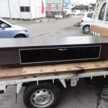『【テレビボードシリーズ】 ワイドが1800ミリのウェンジ色のテレビボード (フジシ ASクルーズ)』の画像