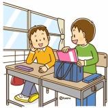 『【クリップアート】小学校中学年−高学年の子どものイラスト7(教室で席に着く・授業を受ける・教科書を読む)』の画像