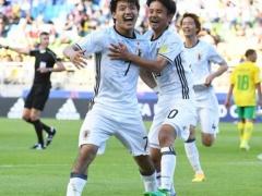 <U20W杯>【 日本代表×南アフリカ 】試合終了!後半早々に小川の同点ゴール!さらに途中出場の久保のアシストで堂安が逆転ゴール!2-1で日本勝利!