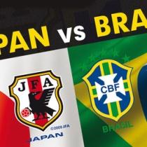 日本×ブラジル ブラジル選手達の反応