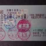 『【2015春の青春18きっぷの旅】まとめ(目次)』の画像