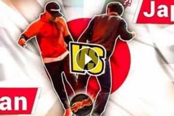 海外「まるでイリュージョン」外国人ドリブラーが日本で大暴れ(?)する動画が話題
