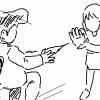 女「手袋を逆から読むと?」DQN「ろくぶて」女「ハァッ!!!」ボッ