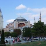 『トルコ旅行記22 ビザンティン建築の最高傑作も納得のアヤソフィア大聖堂』の画像