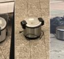 ニューヨークで不審物騒ぎ 空の炊飯器3つ見つかる