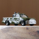 『ダイソーのミリタリーカーシリーズの小型トラック』の画像