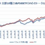 『バフェット太郎10種とS&P500ETFのトータルリターン比較【59カ月目】』の画像