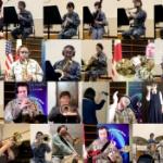 【動画】空自+米空軍+音楽家+中学生、テレワーク演奏!「カウボーイビバップテーマ」