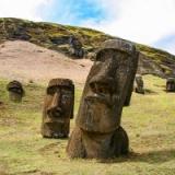 モアイ像(イースター島)の謎についてほんのちょっと数秒でいいから考えてみないか?
