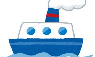 船底に猫がしがみついていた話!!このままだと溺れそう!そこに航海士が現れ