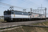 『2016/3/31運転 EF510-510、EF510-509譲渡貨物(田端操~高崎操)』の画像