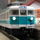 『TOMIX 153系 新快速(高運転台)入線』の画像
