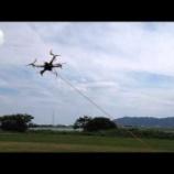 『ドローンの事故防止対策①:マニュアルモードでの飛行練習(パラシュートコードの利用)』の画像
