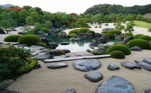 日本庭園が美しい島根の美術館