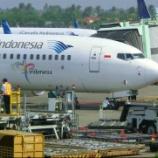 『ガルーダインドネシア航空エコノミークラスジャカルタへ向かいます』の画像