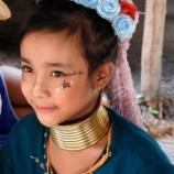 『首長族の村で出会う不思議な美少女たち@タイ・チェンマイ』の画像