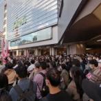 横浜駅がパニック状態